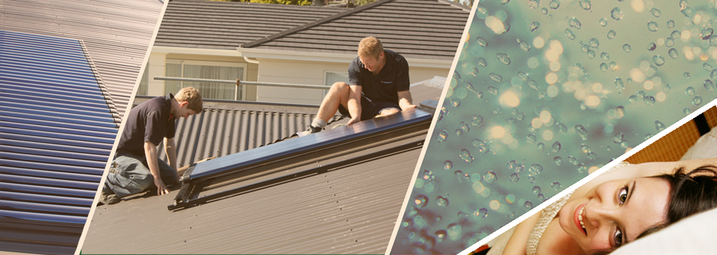 Solar hot water heating system for your home!