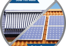 The Difference Between Solar Hot Water & Solar Power